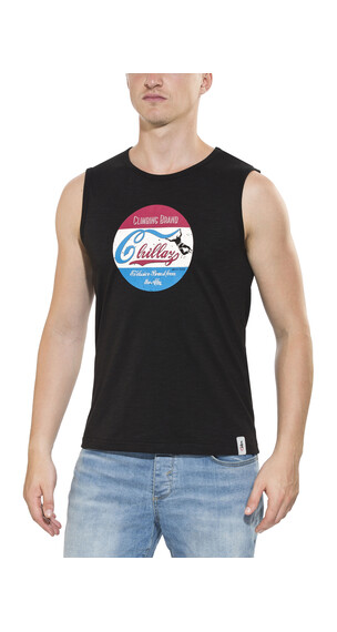 Chillaz Calanques Retro Tanktop Heren wit/zwart